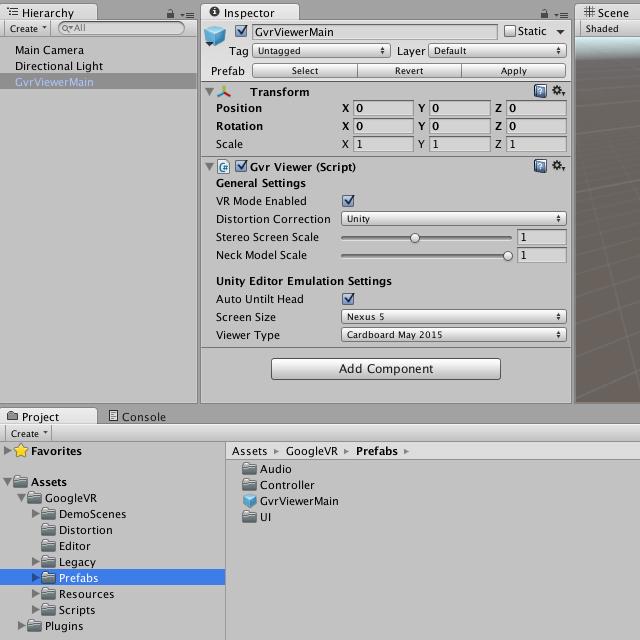 Unity × モバイルVR 入門(iOS / Android / GearVR の開発準備と